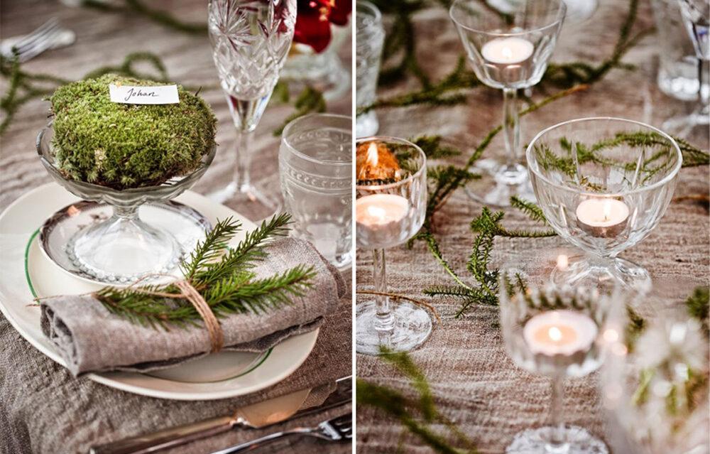 Świąteczne nakrycie stołu. Część pierwsza: styl rustykalny