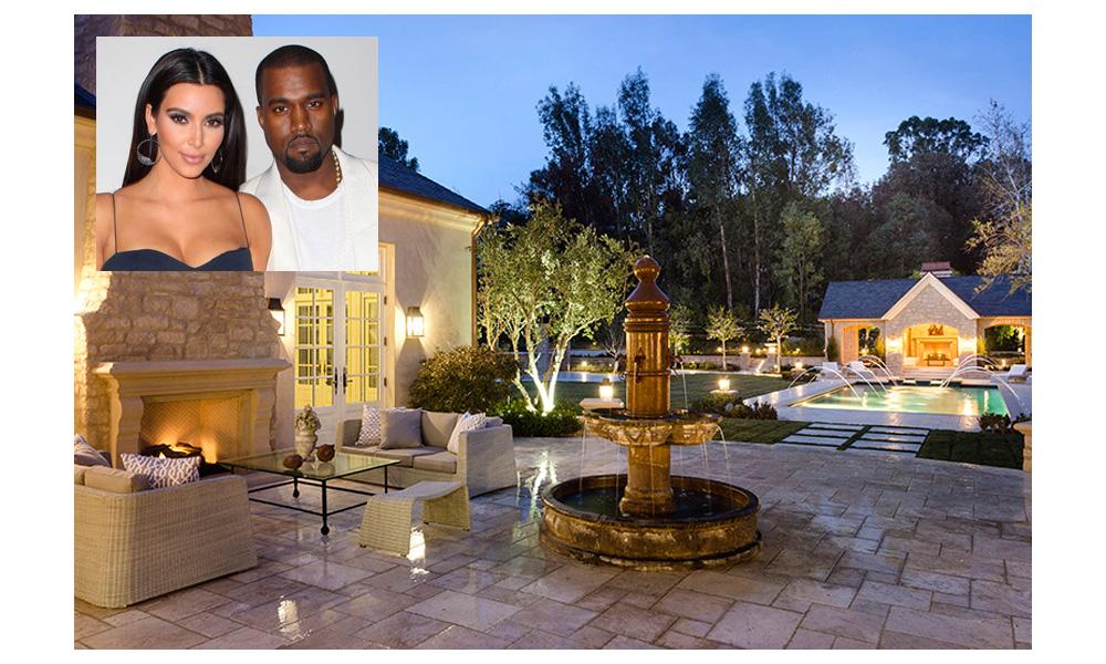 Ogrody gwiazd: Kim Kardashian i Kanye West