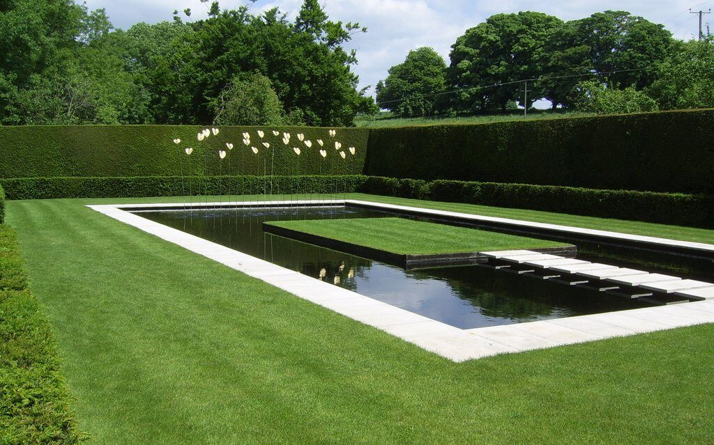 Minimalizm, czyli ogród według Coco Chanel